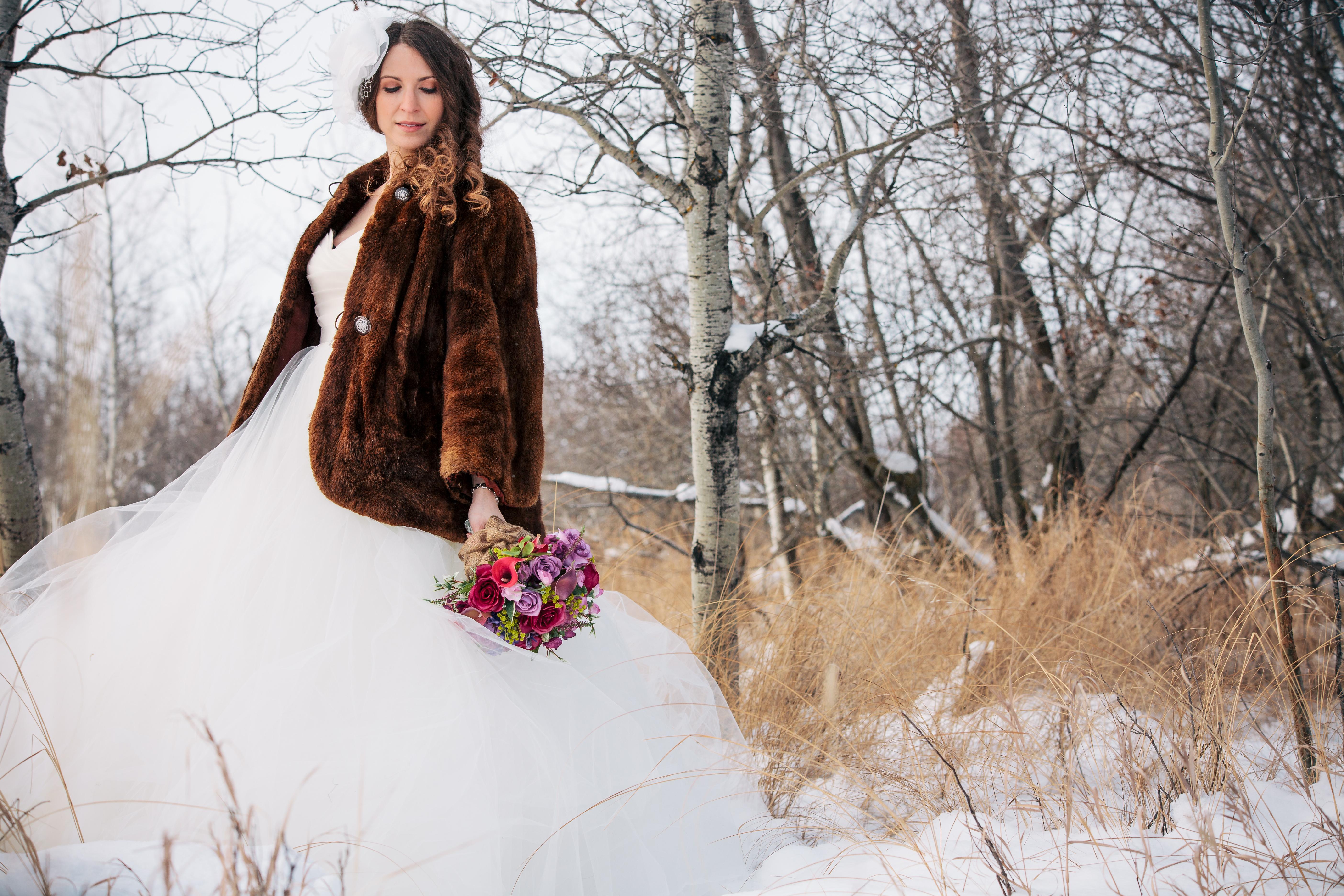 Fur Coats for your Winter Weddings | Amanda Douglas Events