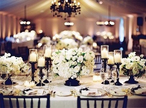 Black And White Wedding Amanda Douglas Events Event Planner