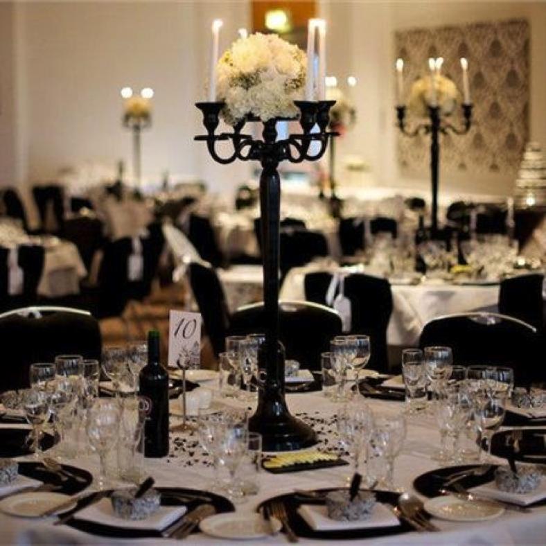 Black And White Wedding Amanda Douglas Events Event