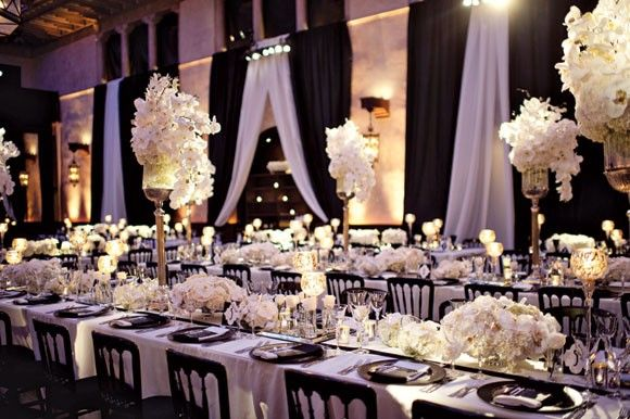 Black and White Wedding | Amanda Douglas Events | Event Planner