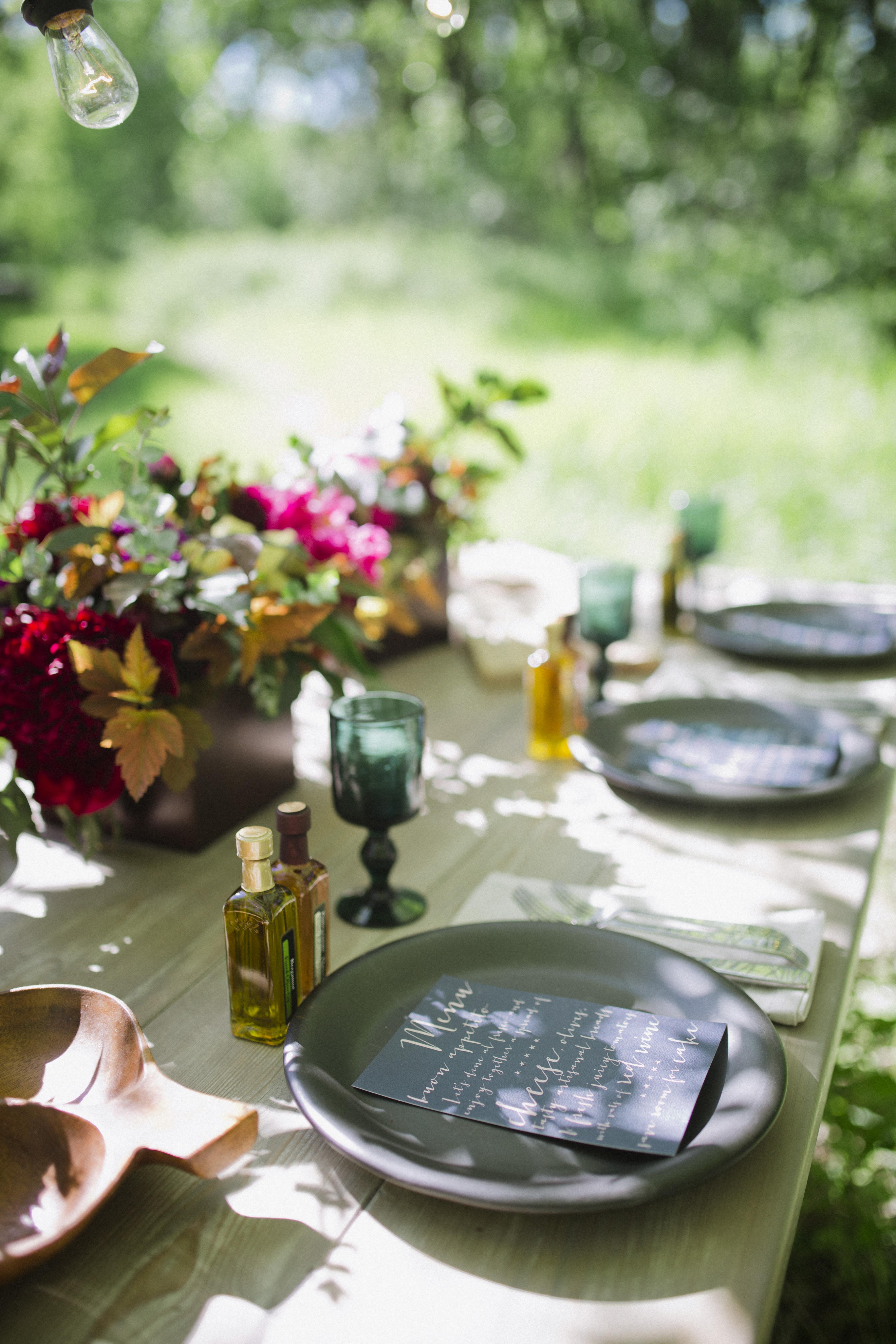Italian Garden Party Inspiration Shoot