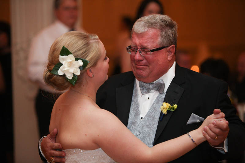 View Larger Image Father Daughter Dance Crying