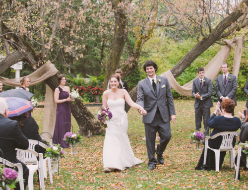 Stephanie & Grant's Country Wedding