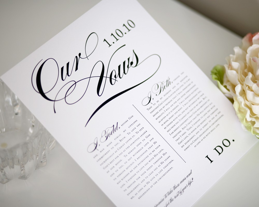 Great Alternatives For Wedding Vows