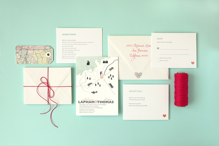 Wedding stationery 101 how to pick your suite amanda douglas view larger image junglespirit Gallery