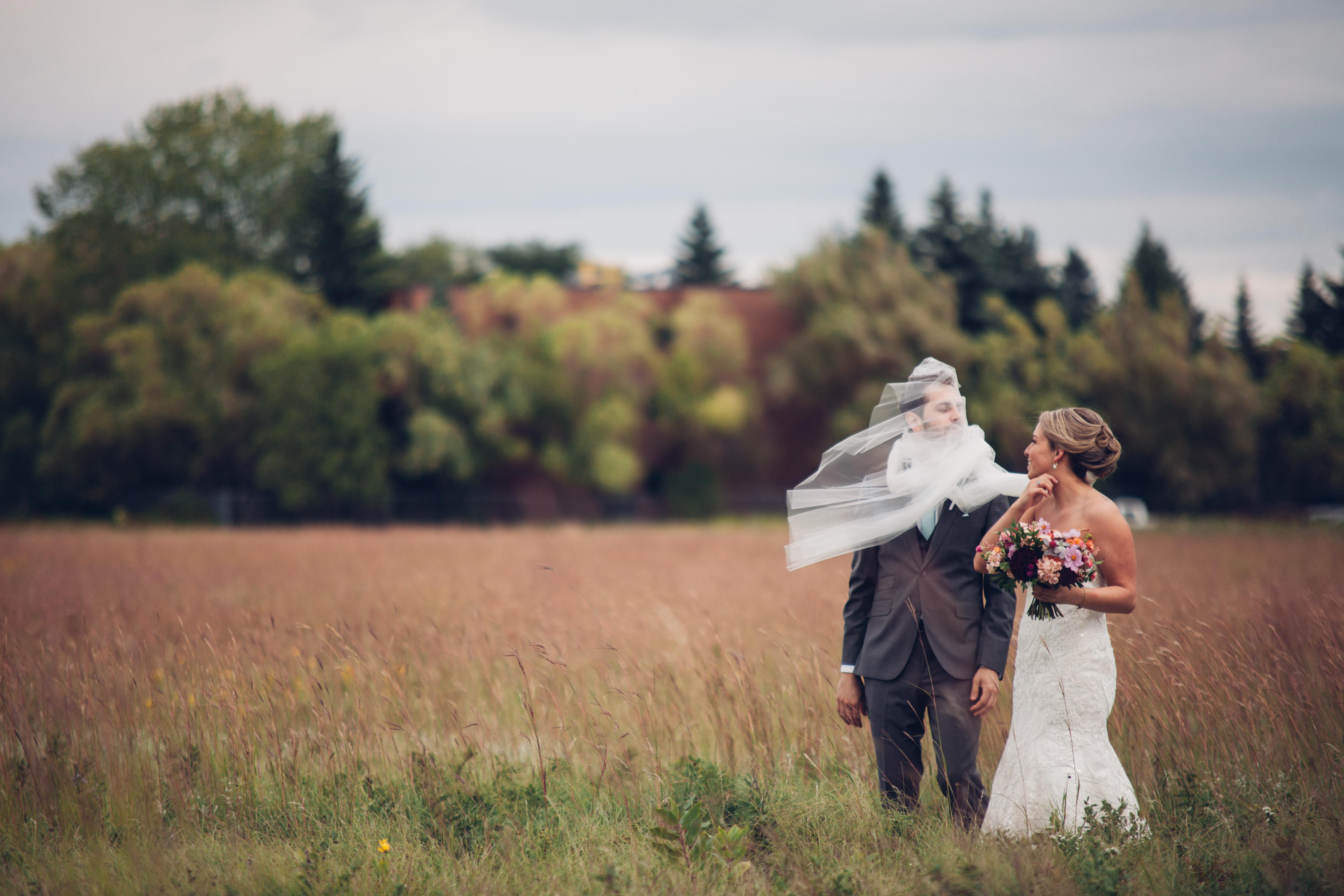 Qualico Family Centre Wedding - vail fail