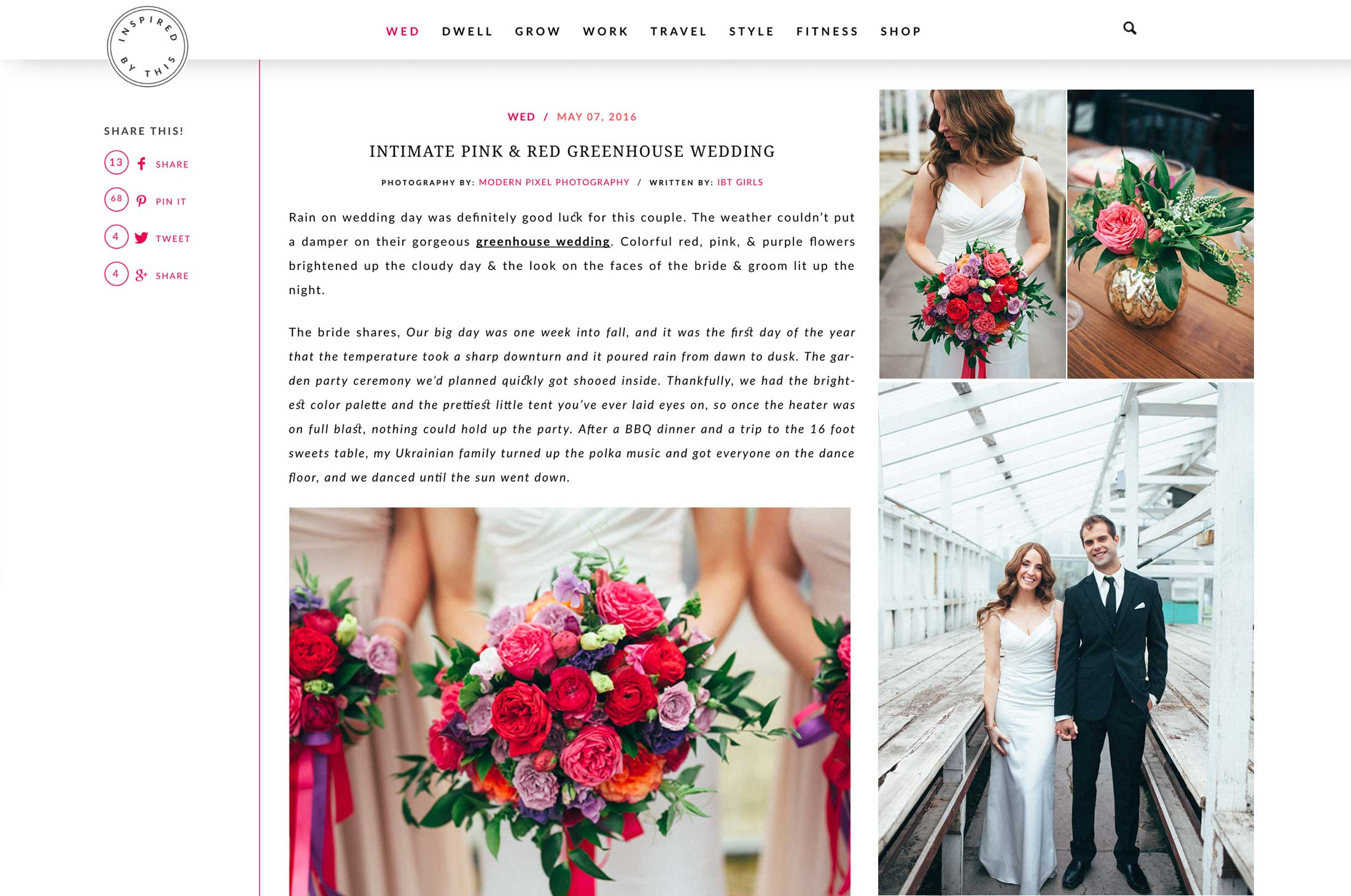 Winnipeg Wedding Planner and Inspiration Feature: Maria and Dan