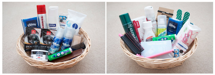 What To Put In A Toiletry Basket For Your Wedding Amanda